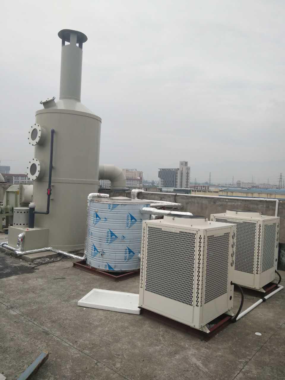 西安木王科技复叠高温热水项目