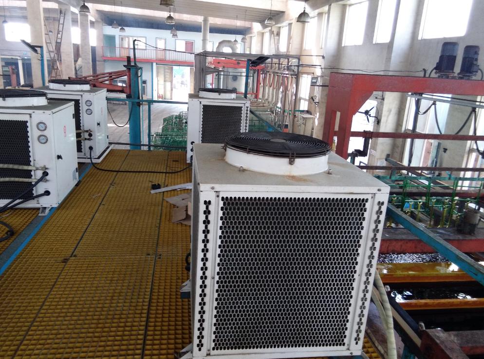 山东省烟台龙口市颖辉表面处理厂电镀线高温热水项目